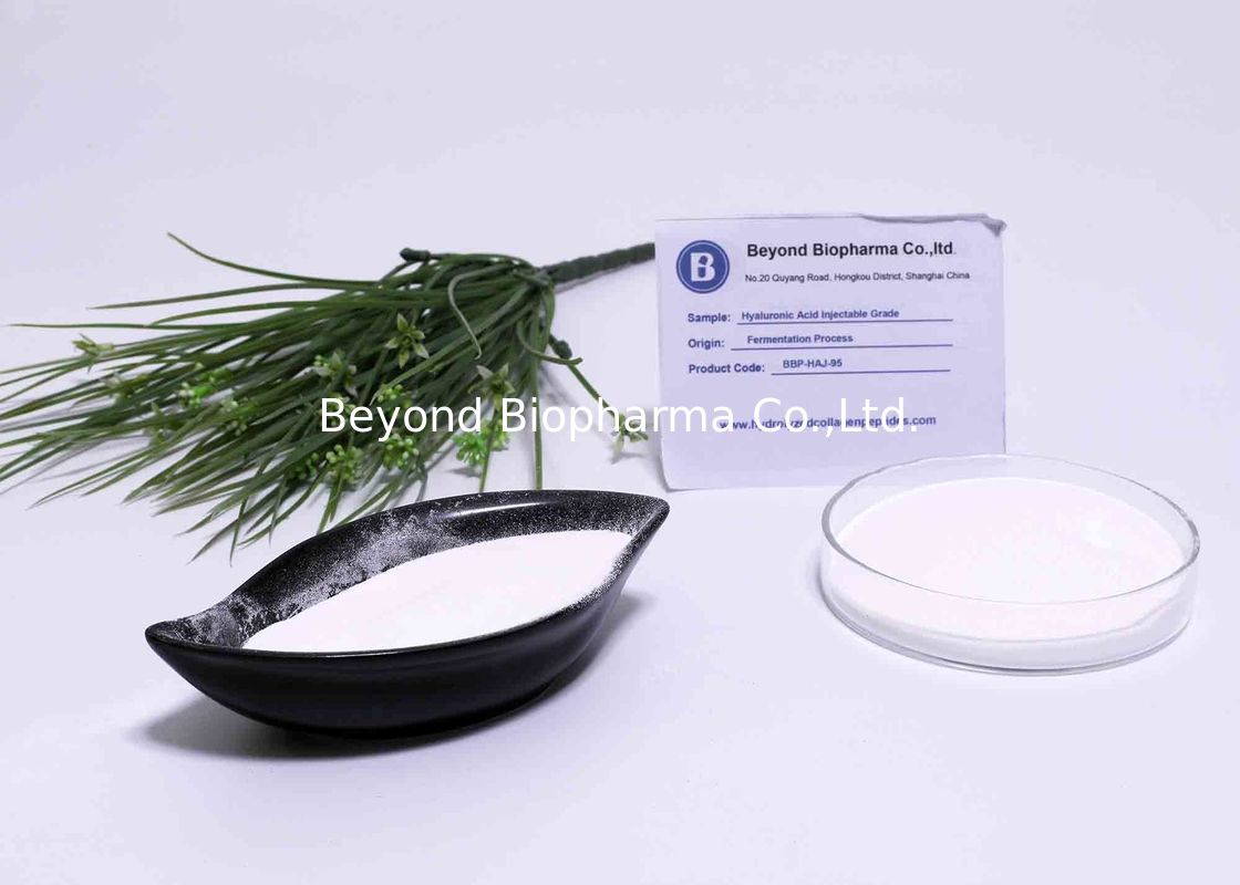 Pharmaceutical Grade Hyaluronic Acid Powder For Hyaluronic Acid Injection