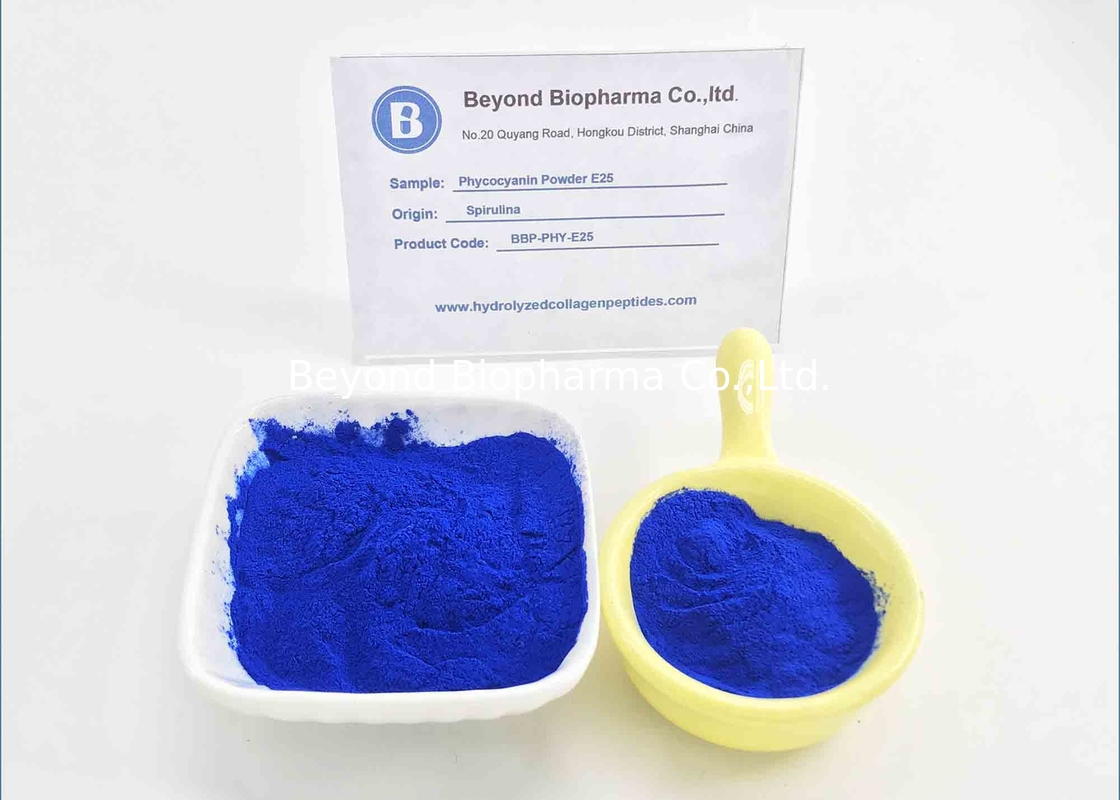 Pharmaceutical Grade E25 Phycocyanin Powder With High Color Value