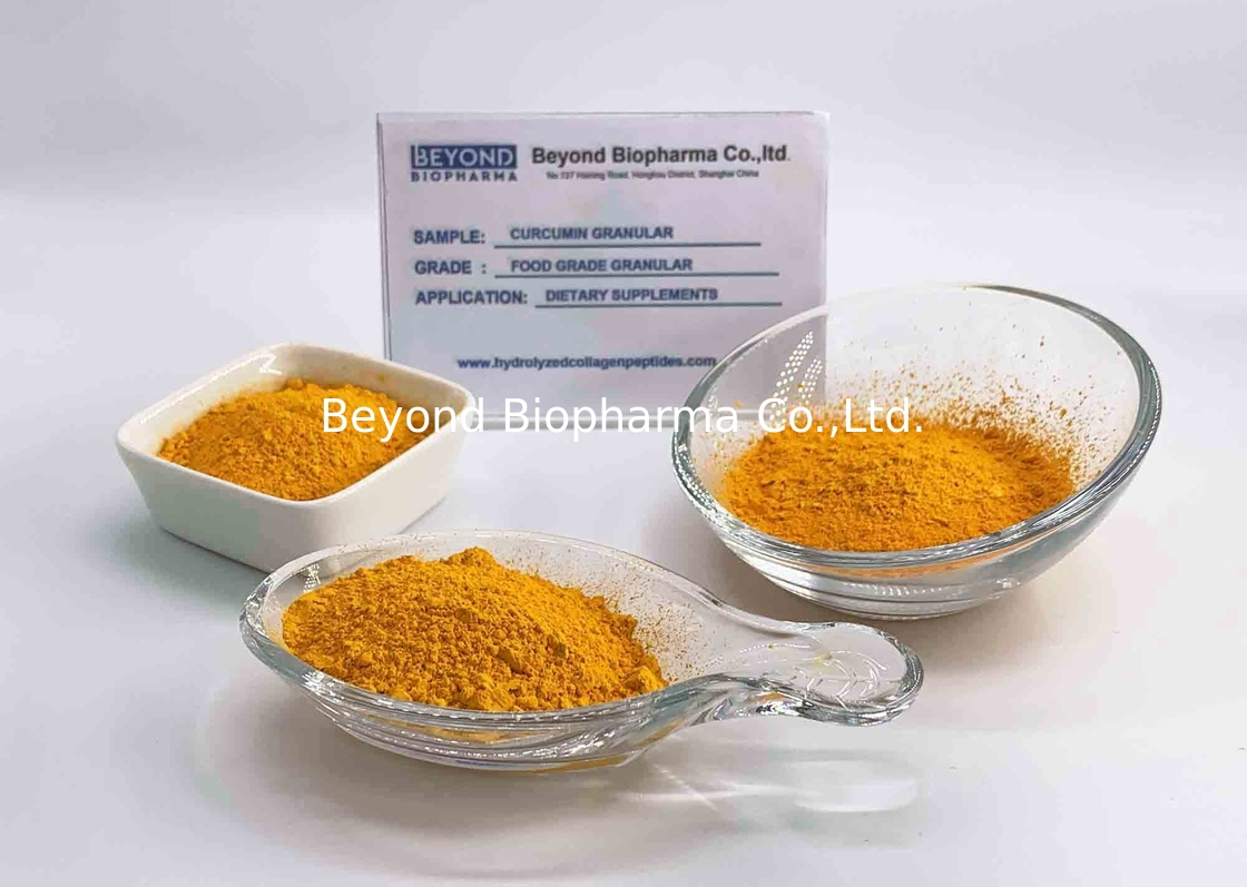 Health Products Pure Curcumin Powder With 95% Curcuminoid Customized